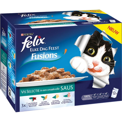 Felix Elke dag feest fusions vis in saus