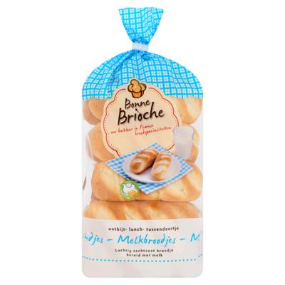 Bonne Brioche Melkbroodjes 10 x 35 g