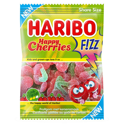 Haribo Happy cherries fizz