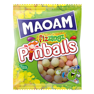 Maoam Pinballs fizzings
