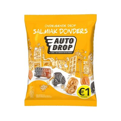 Autodrop Drop salmiak donders