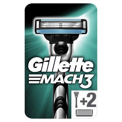 Gillette Mach3 scheersysteem + 3 navulmesjes