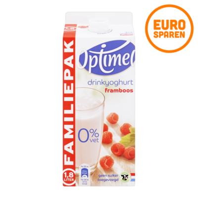 Optimel Drinkyoghurt Framboos Voordeelpak