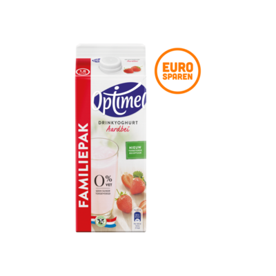 Optimel Drinkyoghurt Aardbei