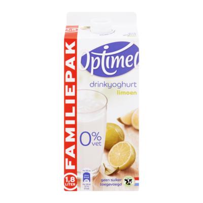 Optimel Drinkyoghurt Limoen Familiepak