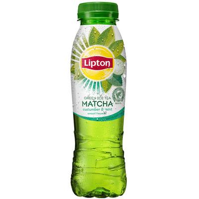 Lipton Ice matcha green cucumber mint