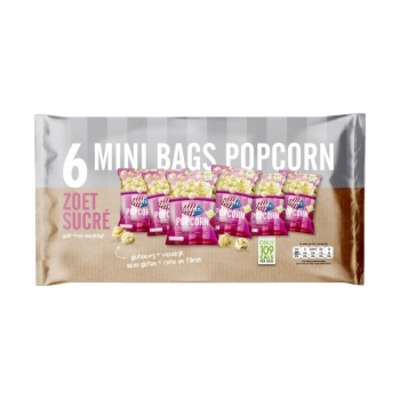 Jimmy's Multipack popcorn zoet
