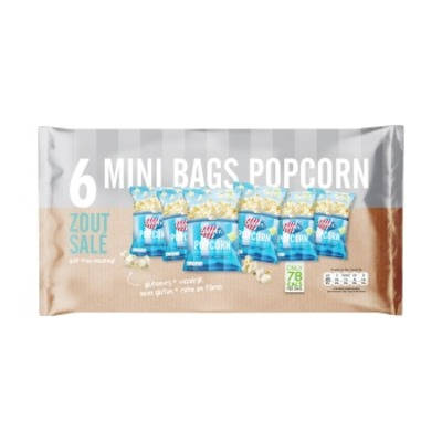 Jimmy's Multipack popcorn zout