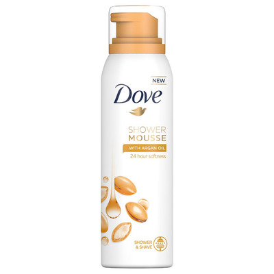 Dove Rose shower mousse rose oil