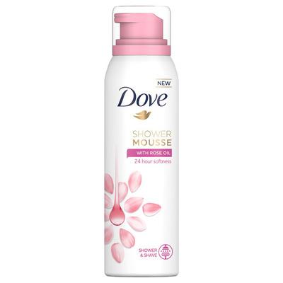 Dove Rose oil foam