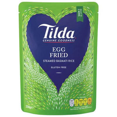 Tilda Egg fried steamed basmati