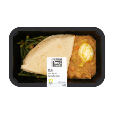 Huismerk Foodmarkt Nieuwe Standaard Kip Roti met Kip en Haricots Verts