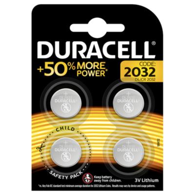 Duracell 2032 Knoopcel Batterijen