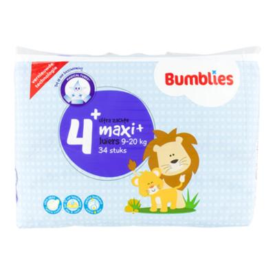 Bumblies Luiers maxi plus 4+