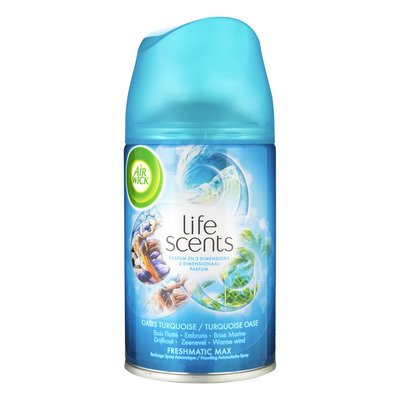 Airwick Life scents navulling turqoise oase