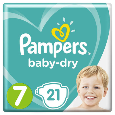 Pampers Baby-dry maat 7