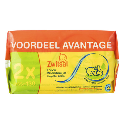 Zwitsal Billendoek lotion 2-pack
