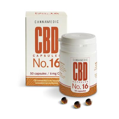 Cannamedic CBD capsules no.16