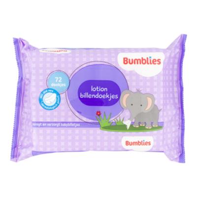 Bumblies Babydoekjes lotion