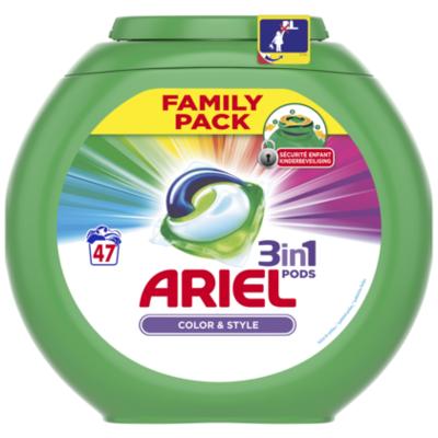 Ariel Pods Color & Style 47ct