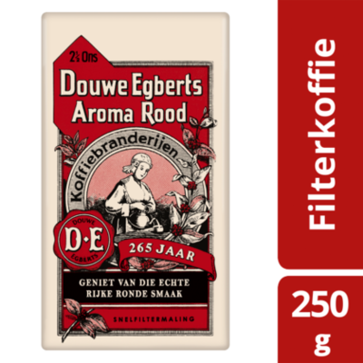 Douwe Egberts Aroma Rood Retro  Filterkoffie