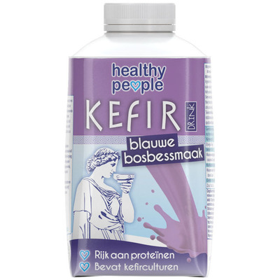Healthy People Kefir blauwe bosbessensmaak