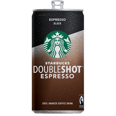 Starbucks Double shot black