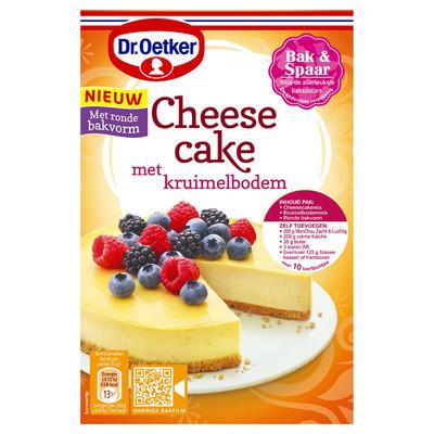 Dr. Oetker Cheesecake met kruimelbodem