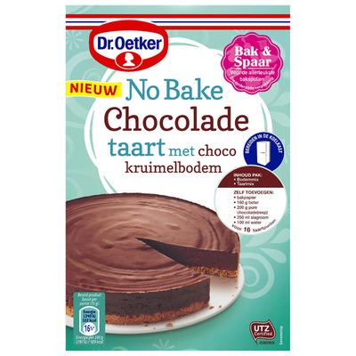 Dr. Oetker No bake chocolade taart