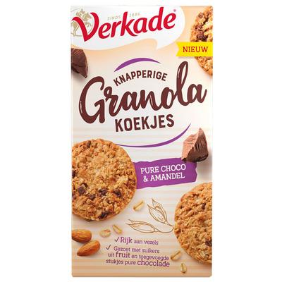 Verkade Knapperige granola pure choco amandel