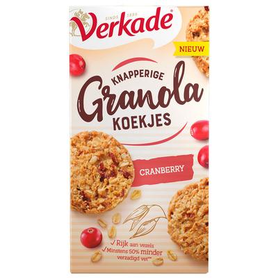 Verkade Knapperige granola cranberry