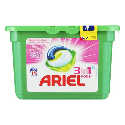 Ariel 3in1 pods fresh sensation pink wasmiddel
