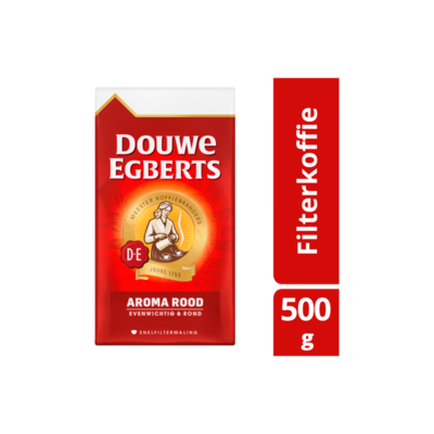 Douwe Egberts Aroma Rood Koffie Snelfiltermaling