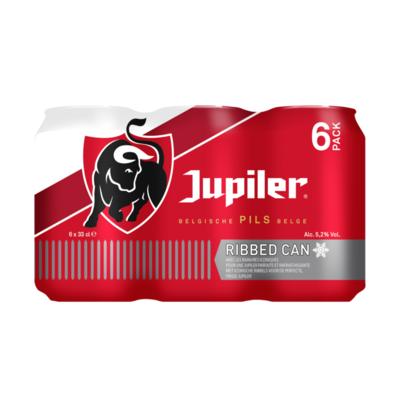 Jupiler Belgische Pils Ribbed Can Blikken