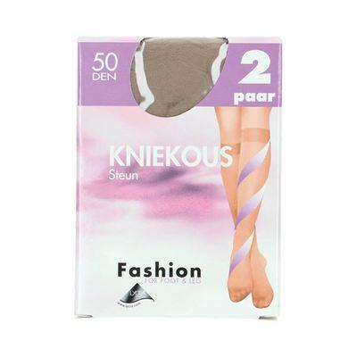 Fashion  kniekousen steun skyhaze maat 39-42, 50 denier