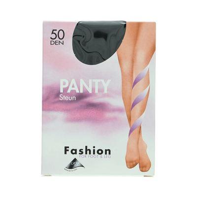 Fashion  panty steun zwart maat 40-44, 50 denier