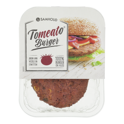 &Samhoud Tomeato burger