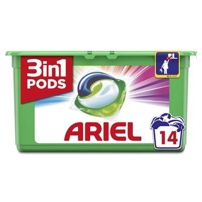 Ariel 3in1 Pods Kleur & Stijl Wasmiddelcapsules 14x