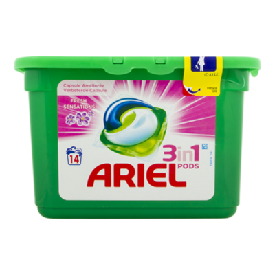 Ariel Pods fresh sensation pink