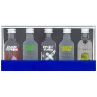 Absolut Mini's Flavor Collection