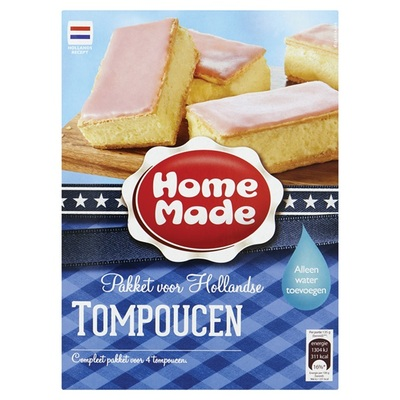 Home Made pakket voor Hollandse tompoucen