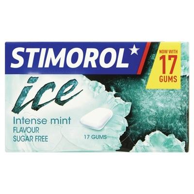 Stimorol kauwgom ice intense mint single