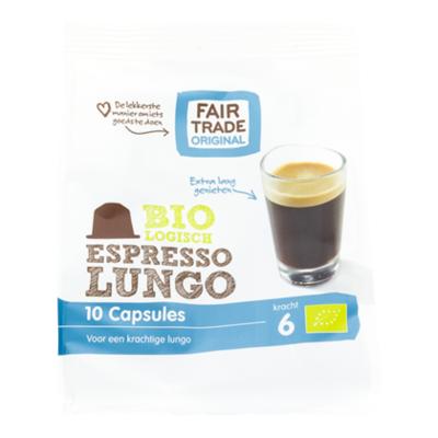 Fair Trade Original Koffiecapsules Lungo Bio
