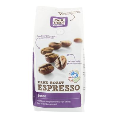 Fair Trade Original Koffiebonen Espresso Dark Roast Bio