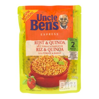 Uncle.B Whole grain & quinoa tomato & basil