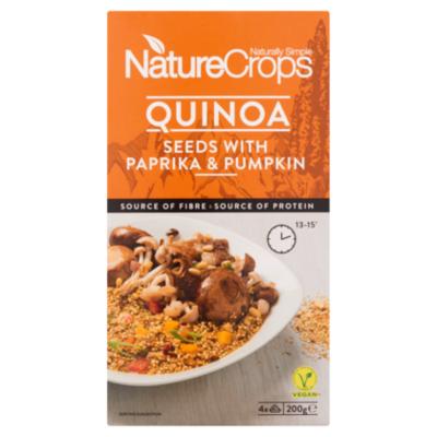 NatureCrops Quinoa seeds paprika & pumpkin