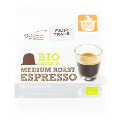 Fair Trade Original Koffiecapsules Espr. Medium Roast Bio