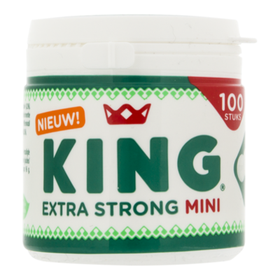 King Pepermunt  mini extra strong