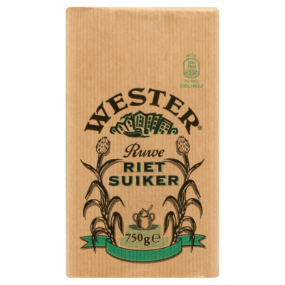 Wester Ruwe Rietsuiker 750 g