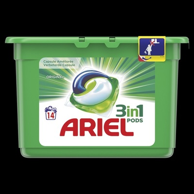 Ariel 3 in 1 pods wascapsules original